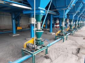 西安钛合金打磨会气力输送系统案例